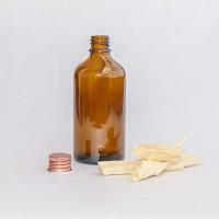 Steklenička Aroma rjavo steklo, 100 ml