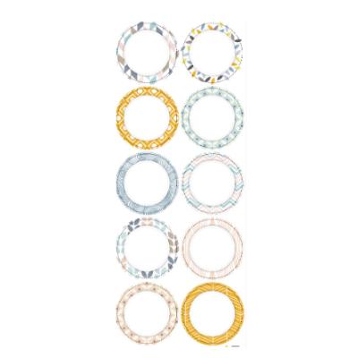 Nalepka Pastel okrogla MINI (paket 10)