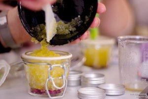 domači sladkorni apiling za telo