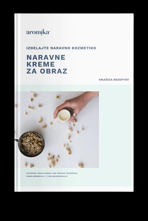 Brezplačna e-knjiga Naravne kreme za obraz