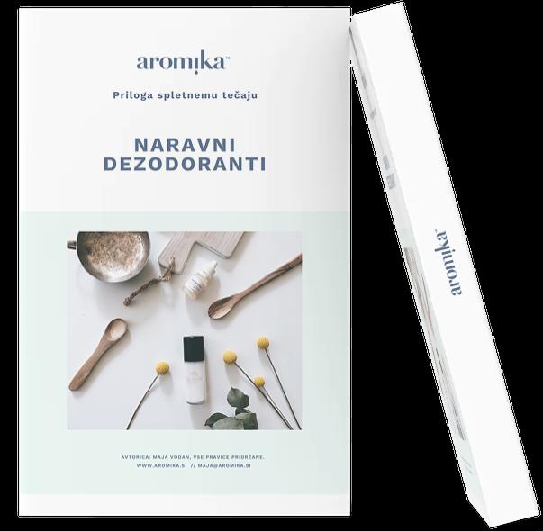 Naslovnica spletni tečaj naravni dezodoranti